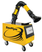 Self-cleaning mobile filter - SovPlym