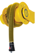 Vehicle Exhaust Hose Reel - SovPlym