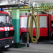 Rail extraction system for Fire and Rescue stations - SovPlym