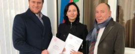 "Opening of Joint Venture ""SovPlym"" in Uzbekistan"
